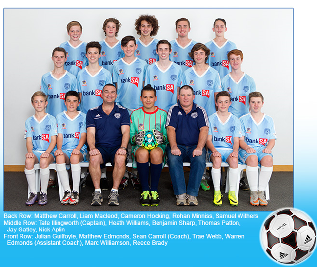 Noarlunga United Under 14 JPL 2016